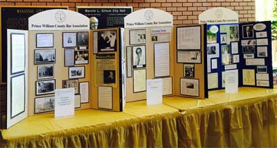 PWCBA HIstory Displays
